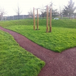 Needle Punch Children's Play Surfacing in Aberffrwd 2