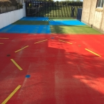 Rubber Wetpour Surfaces in Arley 5