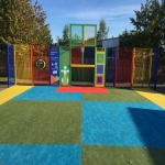 Rubber Wetpour Surfaces in Arley 2