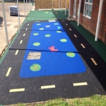 Rubber Wetpour Surfaces in Arreton 4