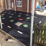 Rubber Wetpour Surfaces in Appleby Magna 1