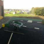 Resin Bonded Rubber Mulch in Carrickfergus 2