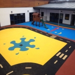Rubber Wetpour Surfaces in Abingdon 6