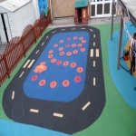Rubber Wetpour Surfaces in Arley 1