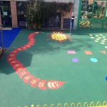 Needle Punch Children's Play Surfacing in Aberffrwd 5