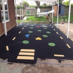 Needle Punch Children's Play Surfacing in Aberffrwd 1