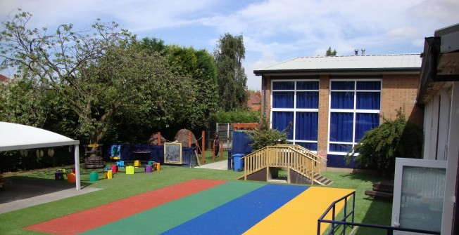 Synthetic Turf for Play Areas in West Aberthaw