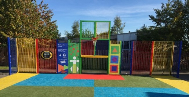 Needlepunch Child's Playground Surfacing in Fife