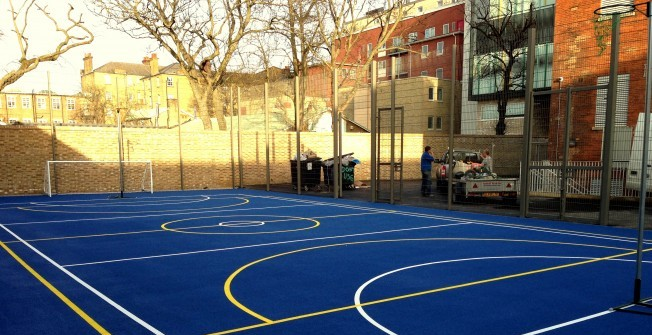 MUGA Sports Court in Dungannon
