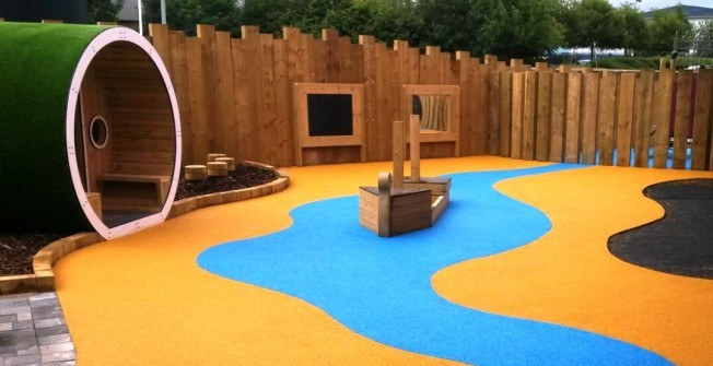 Outdoor Play Area Surfaces in Gellinudd
