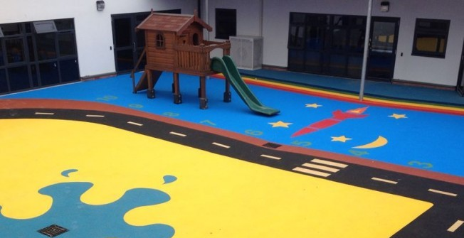 Wet Pour Playground Surfaces in Aby
