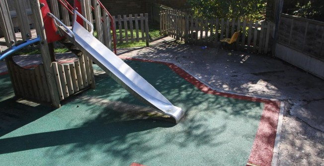 Playground Safety Surface Repairs in Abbess End